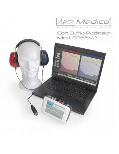 Audiometro USB 800-PRO da...
