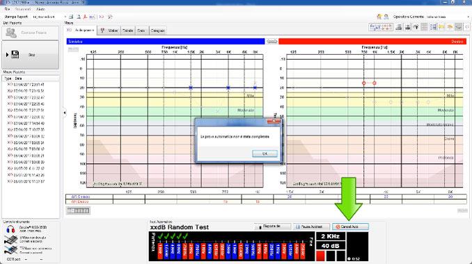 Audiometro Oscilla Random Test