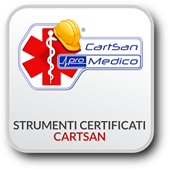 strumenti certificati Cartsan