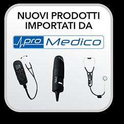 nuovi prodotti importati in esclusiva da promedico