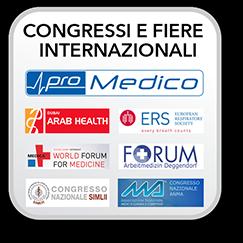 congressi e fiere internazionali con promedico