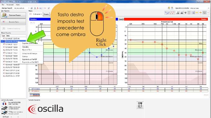 Tutorial Audiometro Oscilla Creazione Paziente