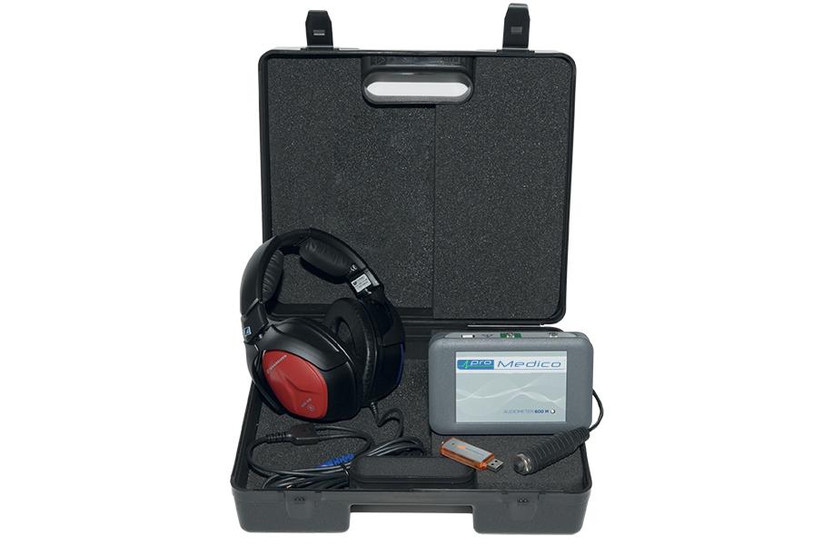 valigetta audiometro