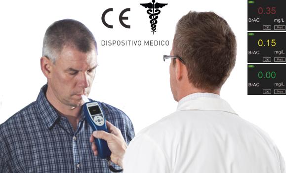 Etilometri ad Uso Medico CE & CE-MED