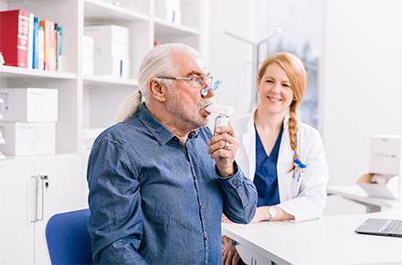 Spirometro Medikro Duo in Funzionamento